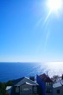 Вид на море с ул. Дрожинского, Ялта