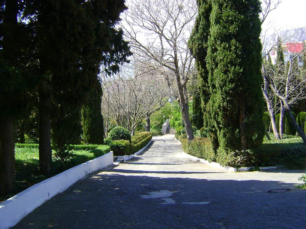 Парк санатория в Мисхоре