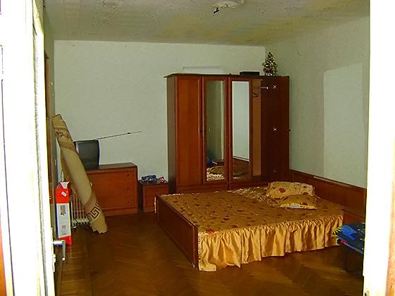 Общая площадь однокомнатной квартиры составляет 41 кв. м. из них жилая комната площадью 18,6 кв. м